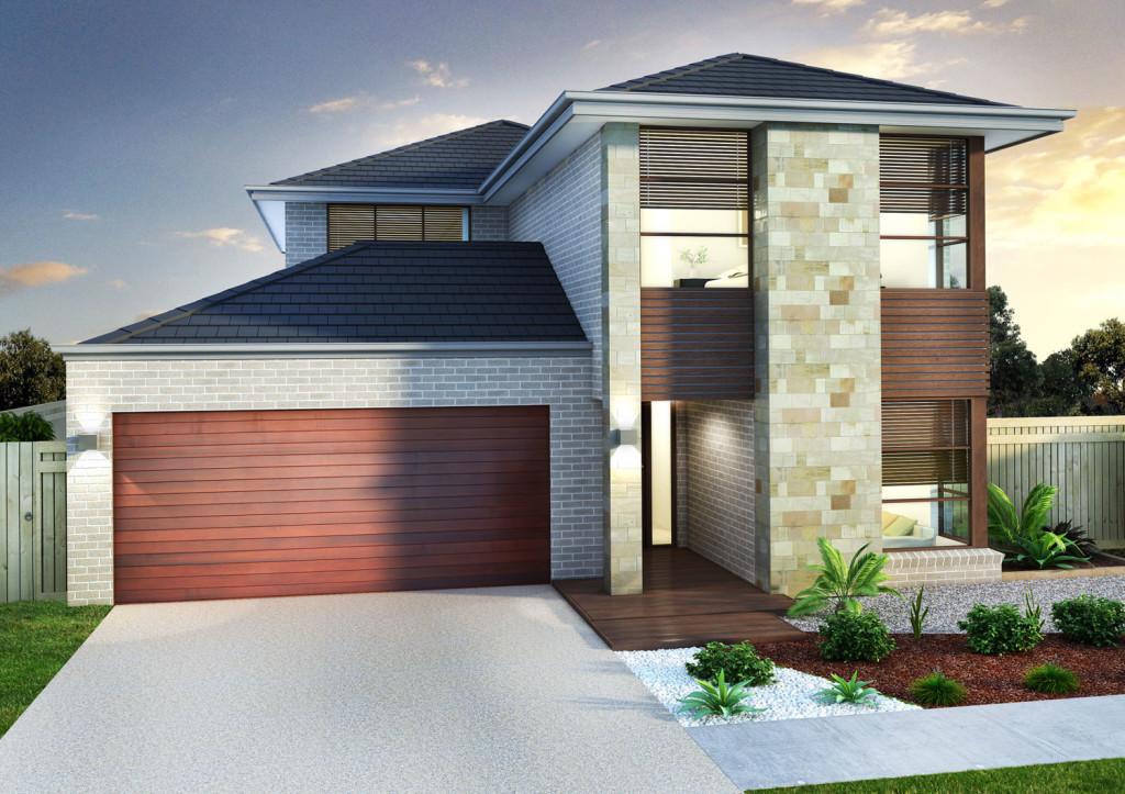 3D 2 Storey House