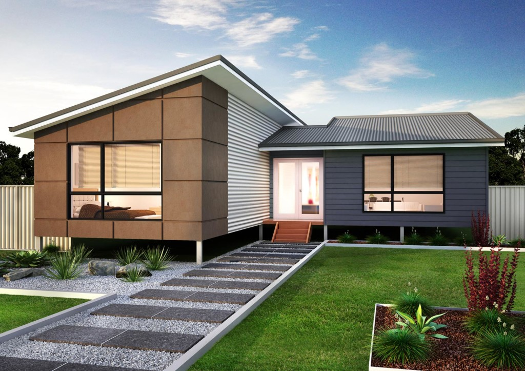 3D Contemporary House Visualisation