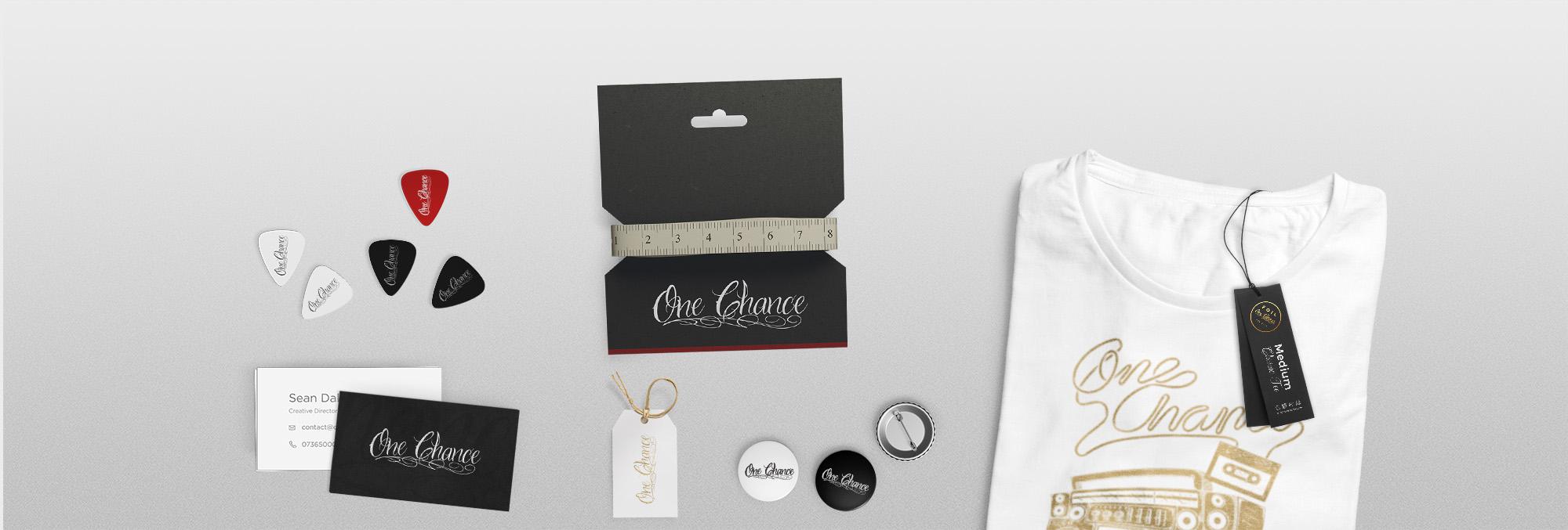 One Chance Branding Mockup