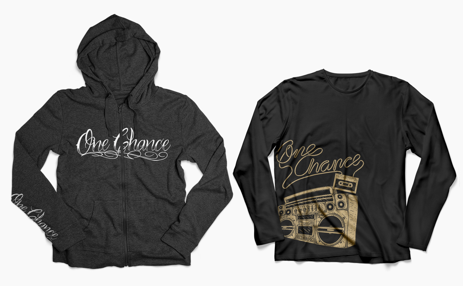 One Chance Product Development - Shirt & Hoodie