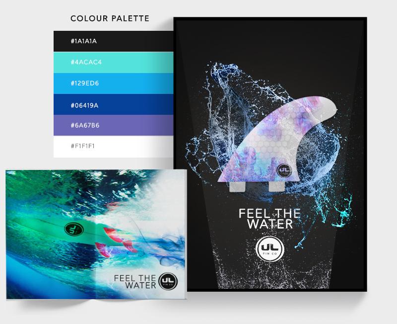 UL Fin Co Marketing Collateral - Sean Dalton Design
