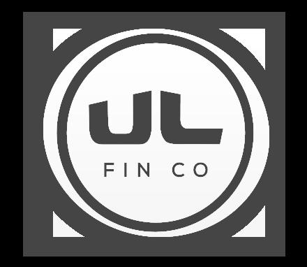 UL Fin Co Logo White - Sean Dalton Design