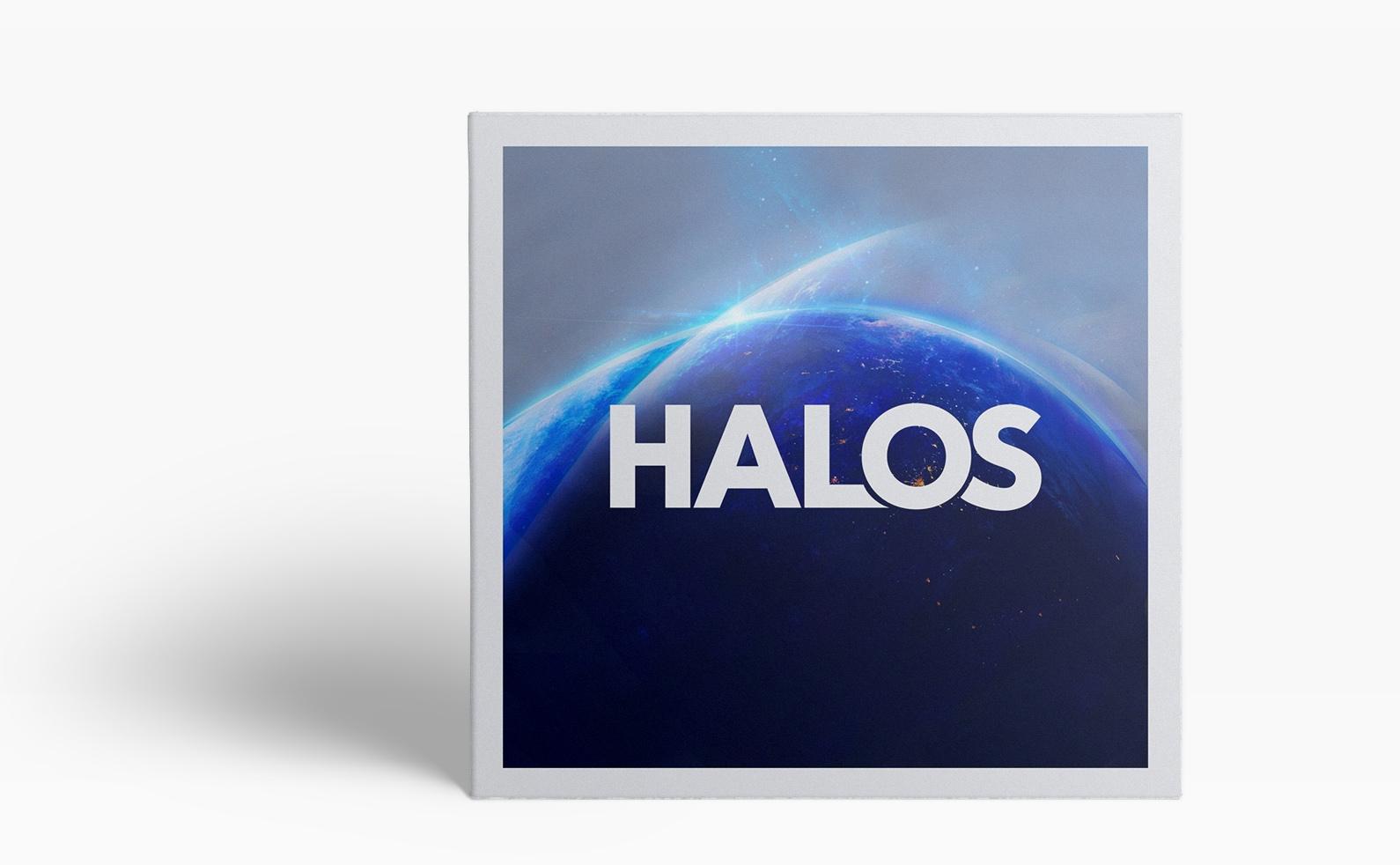 Halos Artwork Mock Up