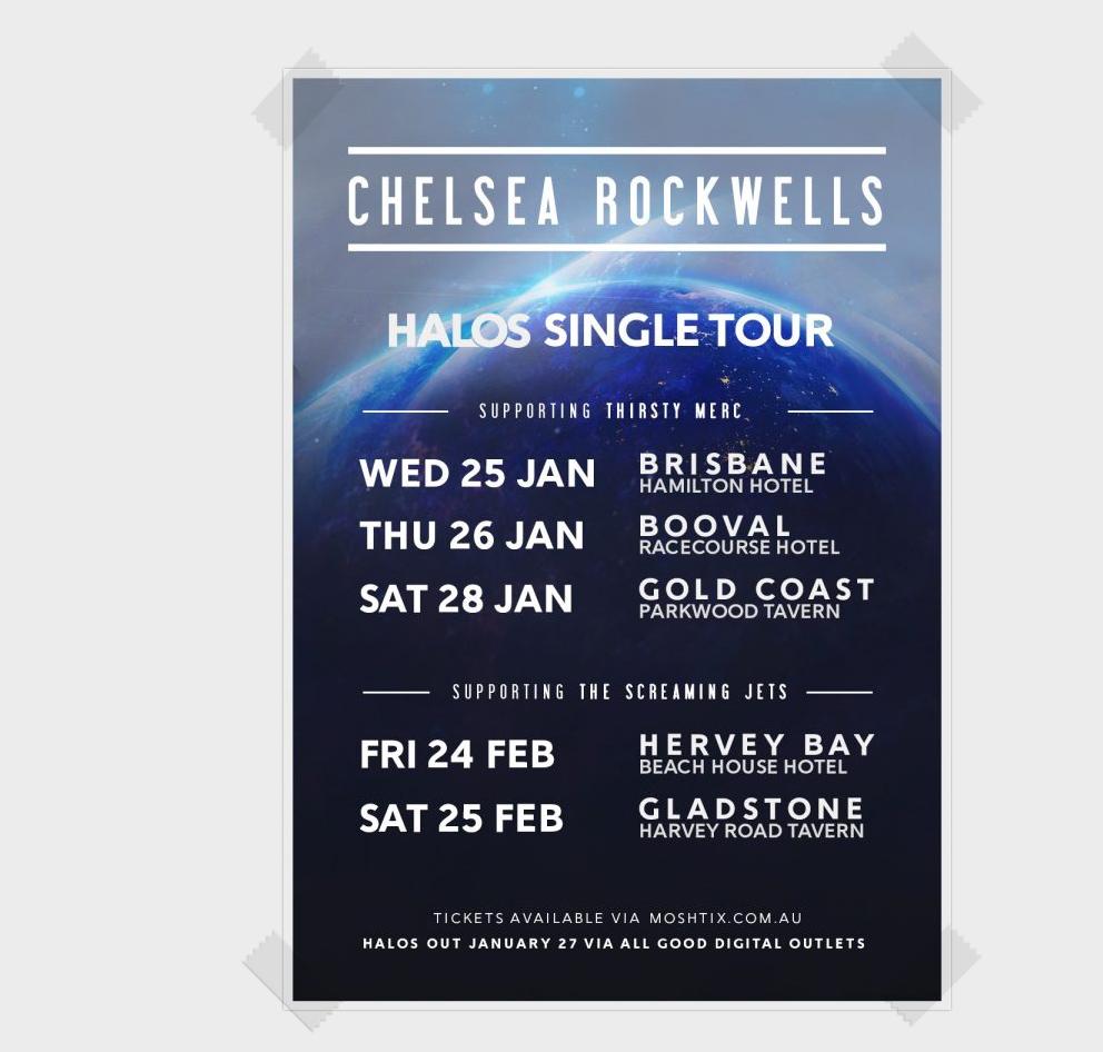 Halos Tour poster