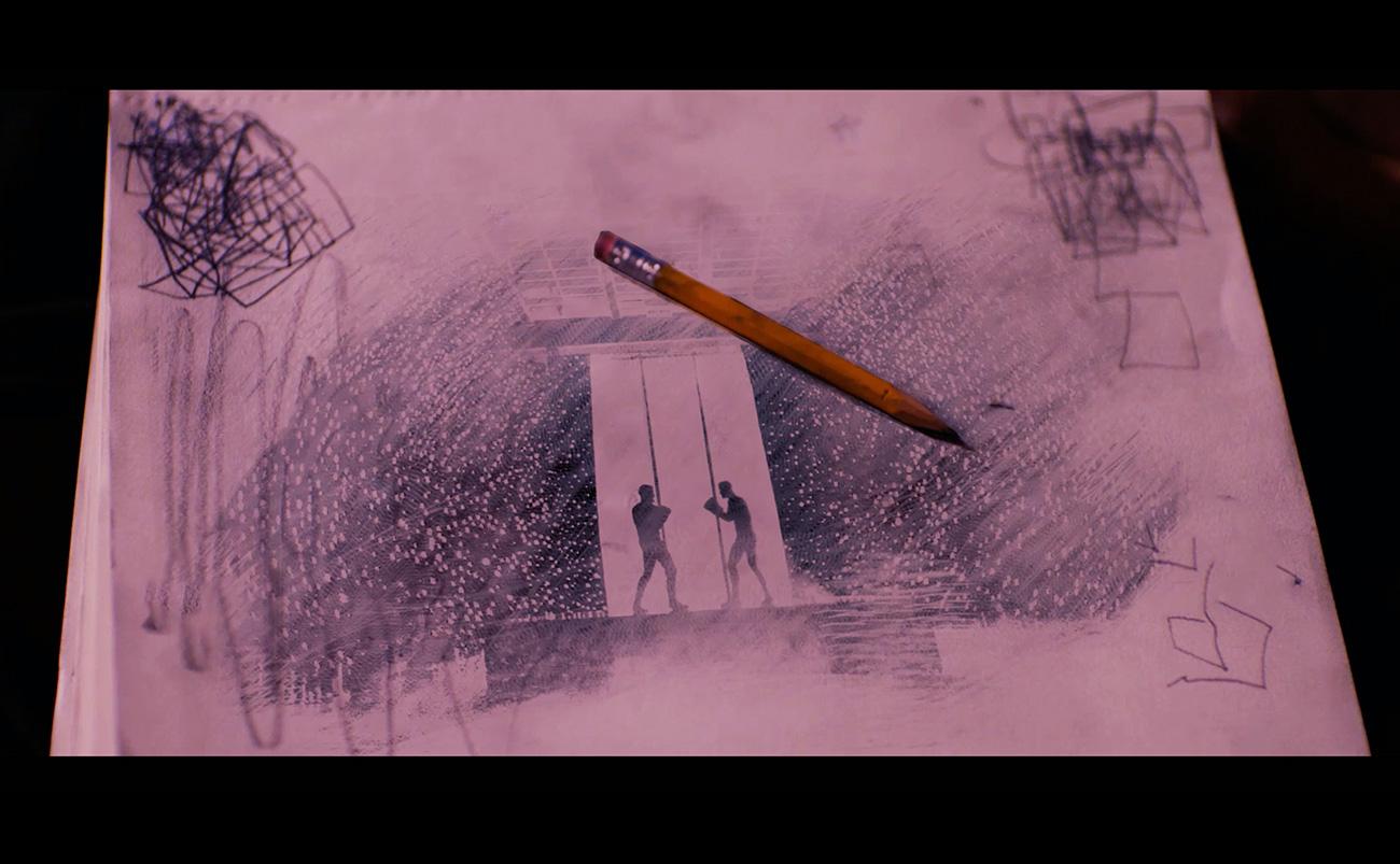 Believer Imagine Dragons Large Screen Special Effects Artwork Sean Dalton Portfolio