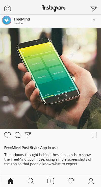 SD Freemind Instagram Styles App In Use