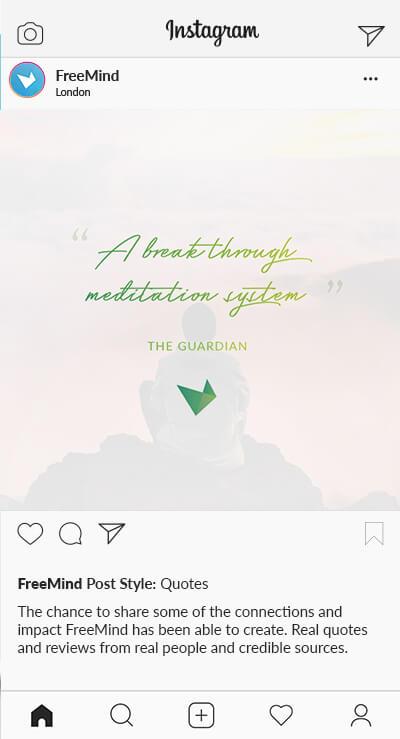 SD Freemind Instagram Styles Quote