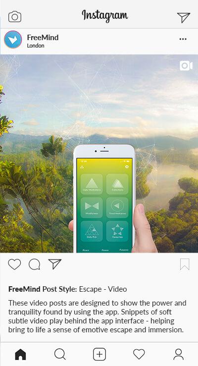 SD Freemind Instagram Styles Video Escape